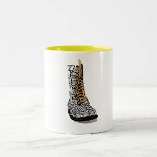 Heart of Bootblack Coffee Mug 2 tone