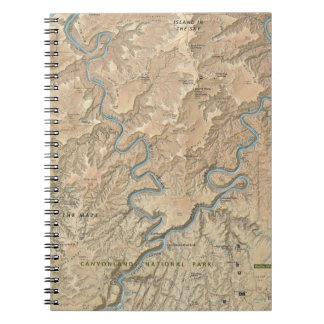 Heart of Canyonlands (Utah) map notebook