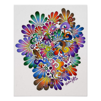 Heart of Color Posters