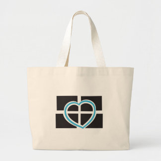 Heart of Cornwall Canvas Bags