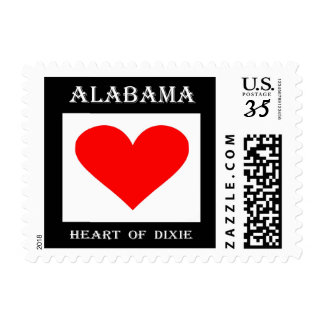 Heart of Dixie (Alabama) Postage