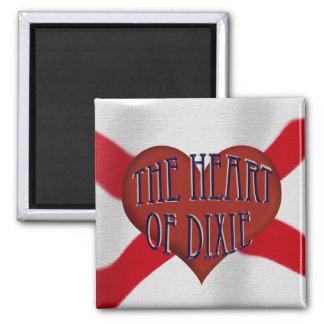 Heart Of Dixie Magnet