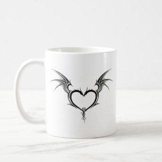 heart of dragon mug