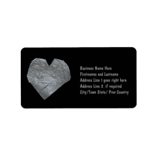 Heart of Duct Tape Label