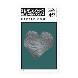 Heart of Duct Tape Postage Stamp
