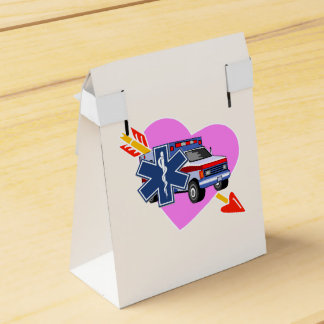 Heart of EMS Favor Boxes
