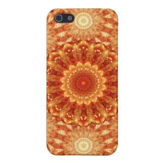 Heart of Fire Mandala Cover For iPhone SE/5/5s