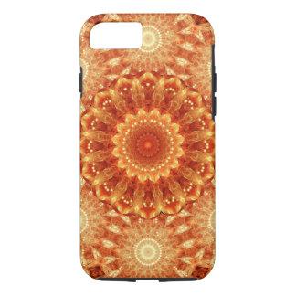Heart of Fire Mandala iPhone 7 Case