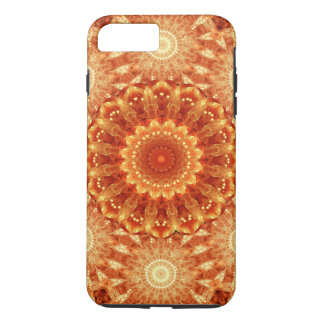 Heart of Fire Mandala iPhone 7 Plus Case