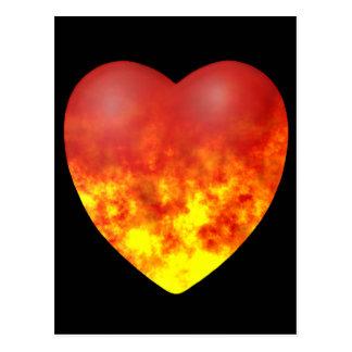 HEART OF FIRE POSTCARD