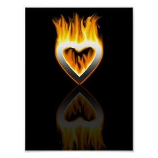heart of fire. poster