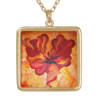HEART OF FLAME NECKLACE