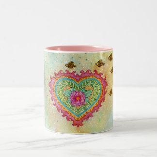Heart of Flames Mug