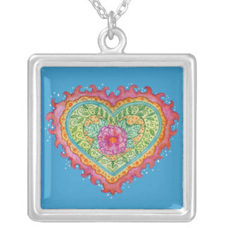 Heart of Flames Necklace