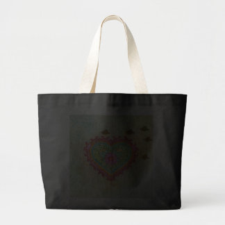 Heart of Flames Tote Bag