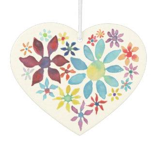 Heart of Flowers Car Air Freshener