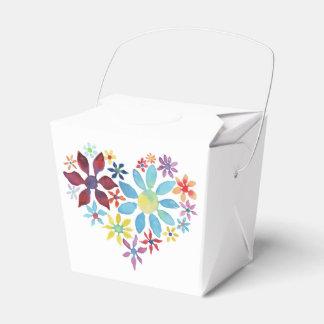 Heart of Flowers Favor Box