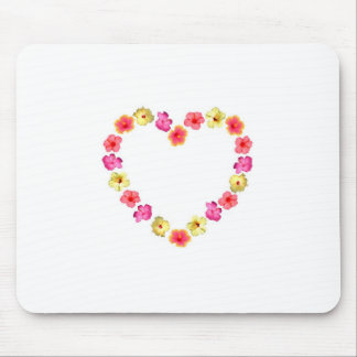 Heart of Flowers Mouse Pad