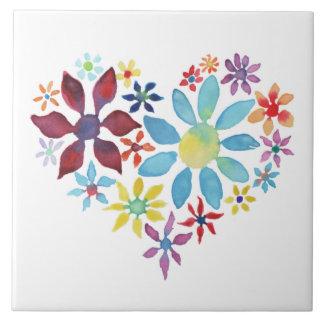 Heart of Flowers Tiles