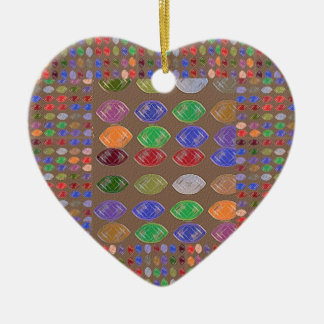 Heart of Gems Christmas Tree Ornaments