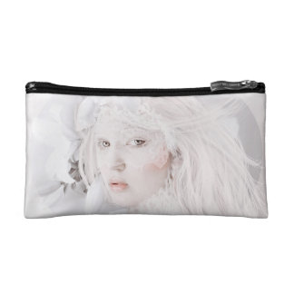 Heart of Glass cosmetic bag