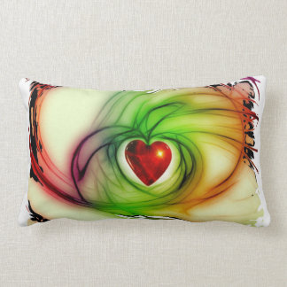 Heart Of Glass Throw Pillows