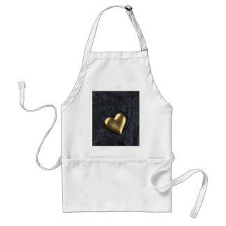 Heart of Gold Adult Apron