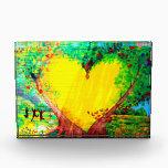 """heart of gold award<br><div class=""""desc"""">gold heart mural</div>"""