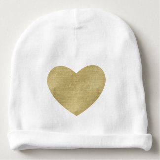 Heart of Gold Baby Beanie