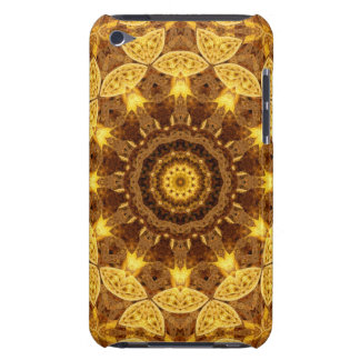 Heart of Gold Mandala iPod Touch Case