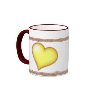 Heart of Gold Personalized Mug