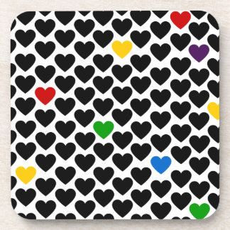 Heart of Hearts Beverage Coaster