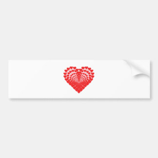 Heart of Hearts Bumper Sticker