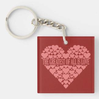 Heart of Hearts custom key chain
