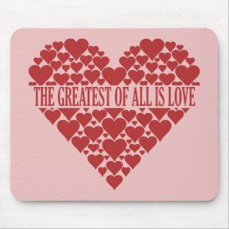 Heart of Hearts custom mousepad