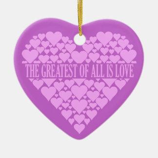 Heart of Hearts custom ornament