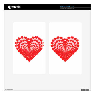 Heart of Hearts Kindle Fire Skins