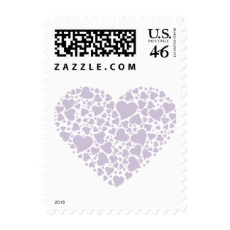 Heart of Hearts - Light Lilac Postage Stamps