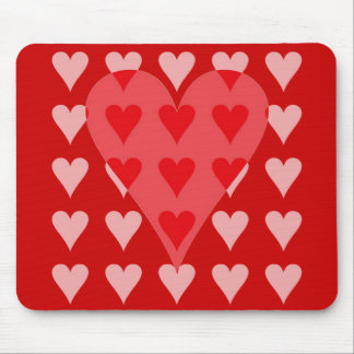 Heart of Hearts Mouse Pad
