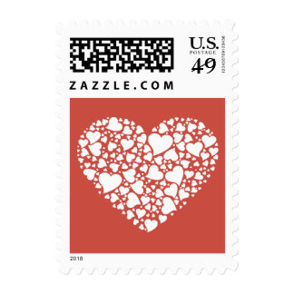 Heart of Hearts - Terra Cotta Postage Stamps