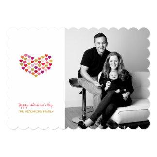 "Heart of Hearts | Valentine's Day Photo Card 5"" X 7"" Invitation Card"