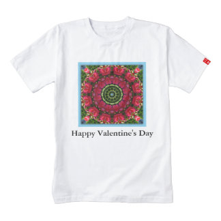 Heart of Heaven 01.2.T (red hearts und blossoms) Zazzle HEART T-Shirt