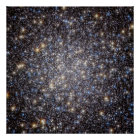 Heart Of Hercules Globular Cluster Poster