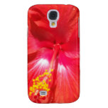Heart of Hisbiscus Samsung Galaxy S4 Cover