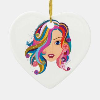 Heart of Hope Ceramic Ornament