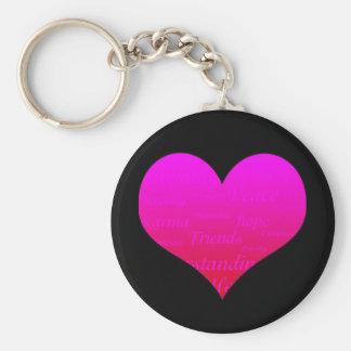 Heart of Hope Keychain