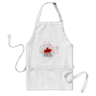Heart of India Adult Apron