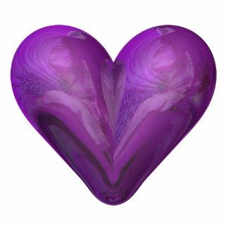 heart of iris cutout