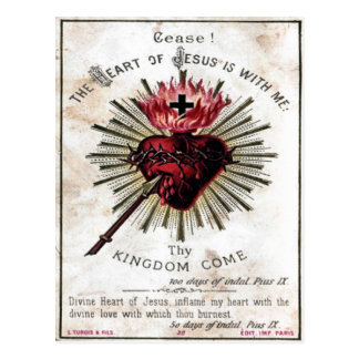 Heart Of Jesus Postcard