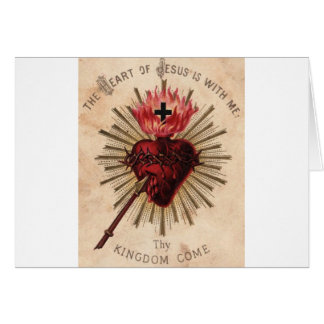 Heart of Jesus (small) Card
